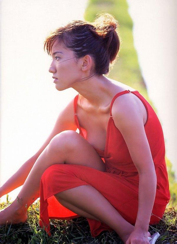 【坂木優子グラビア画像】FカップボディでハイレグTバックと男心をくすぐられるねぇ! 47