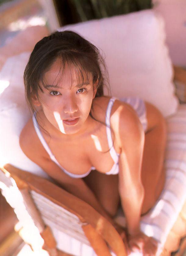 【坂木優子グラビア画像】FカップボディでハイレグTバックと男心をくすぐられるねぇ! 52