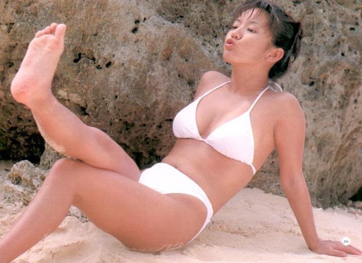 【坂木優子グラビア画像】FカップボディでハイレグTバックと男心をくすぐられるねぇ! 71