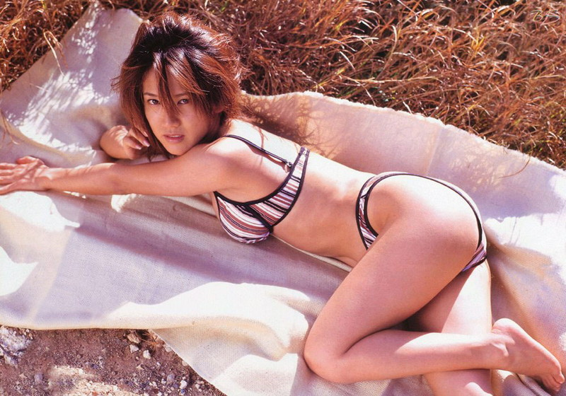 【坂木優子グラビア画像】FカップボディでハイレグTバックと男心をくすぐられるねぇ! 74