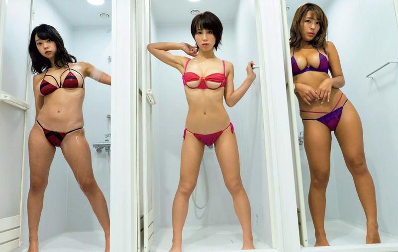 【sherbetエロ画像】アイドルグループとは違ったセクシーさを楽しめるグラドルユニット!