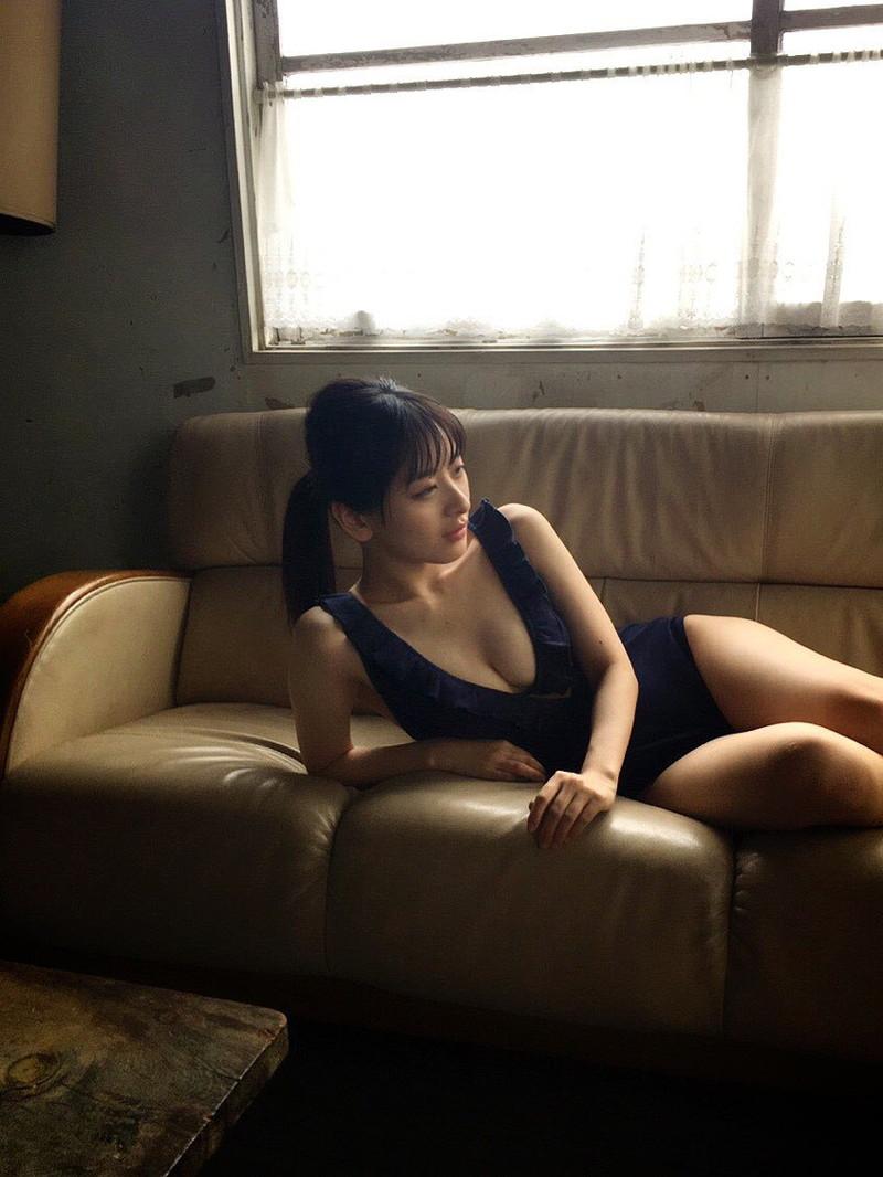 【牧野澪菜エロ画像】身長144cmでDカップって結構スケベなカラダしてるんじゃないの~? 19