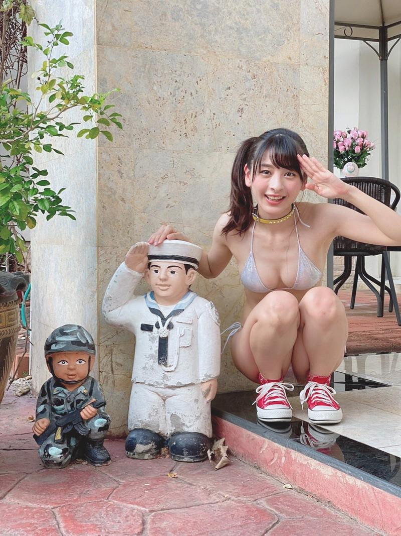 【牧野澪菜エロ画像】身長144cmでDカップって結構スケベなカラダしてるんじゃないの~? 35