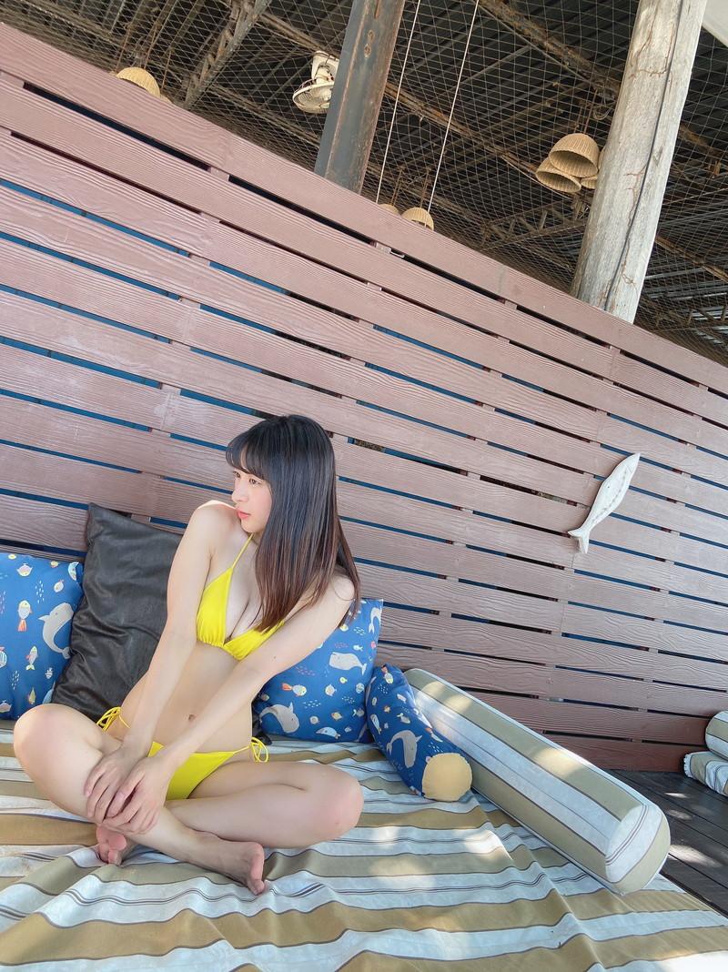 【牧野澪菜エロ画像】身長144cmでDカップって結構スケベなカラダしてるんじゃないの~? 44
