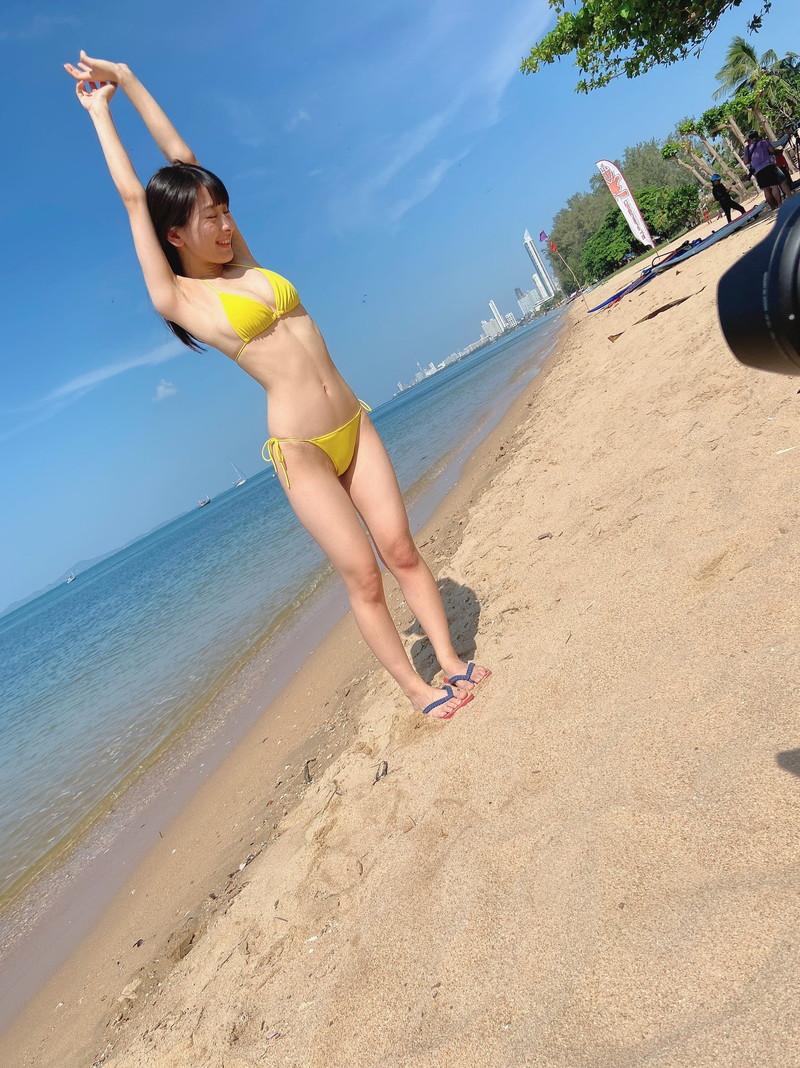 【牧野澪菜エロ画像】身長144cmでDカップって結構スケベなカラダしてるんじゃないの~? 45