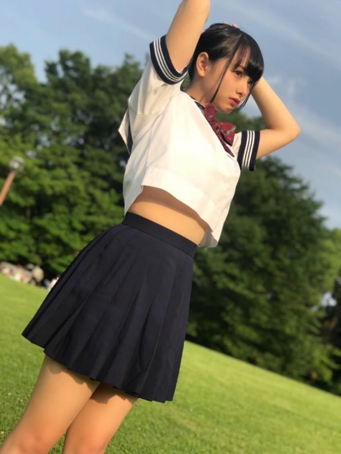 【新谷真由キャプ画像】TikTokで可愛すぎると評判の美少女アイドルがオッパイも凄かったwwww 34