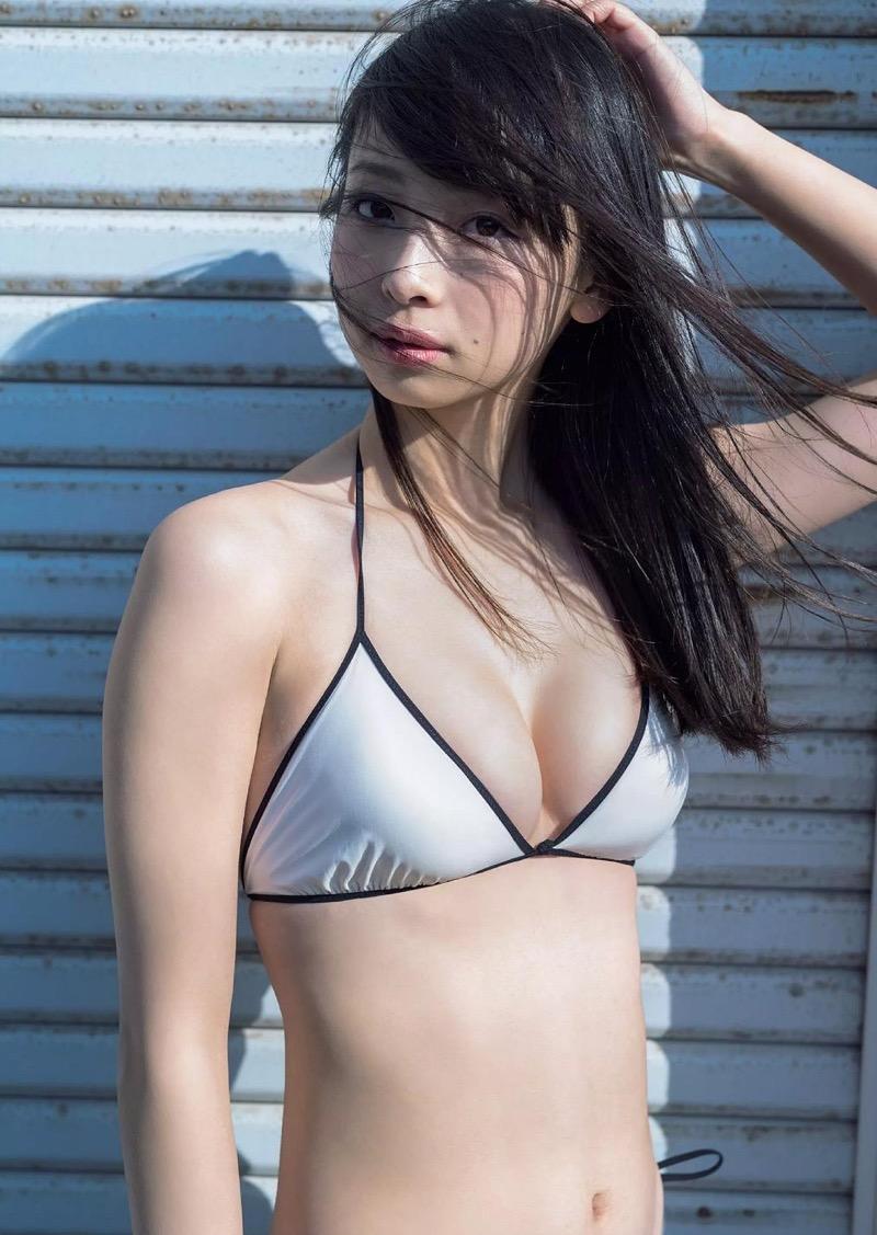 【華村あすかグラビア画像】あどけない表情にセクシーボディのギャップがエロい美女 67