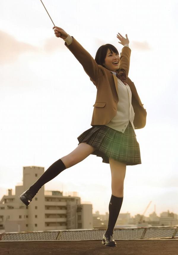 【美少女制服画像】見ているだけで癒やされる美少女アイドルの学校制服姿に萌えた 11