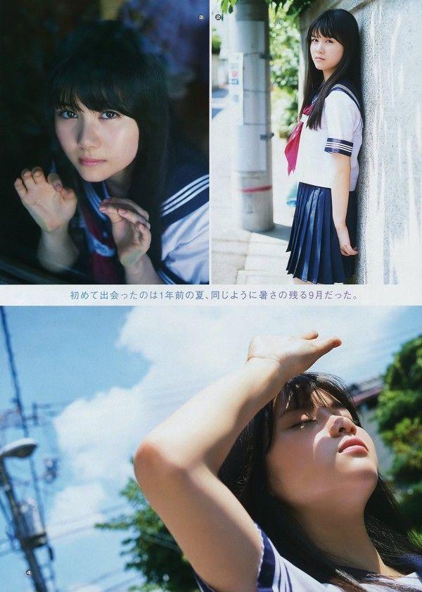【美少女制服画像】見ているだけで癒やされる美少女アイドルの学校制服姿に萌えた 13