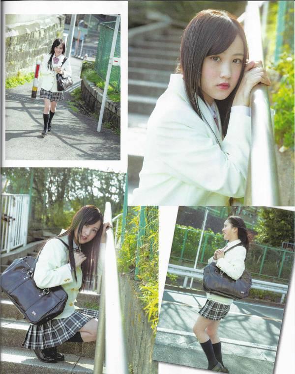 【美少女制服画像】見ているだけで癒やされる美少女アイドルの学校制服姿に萌えた 37