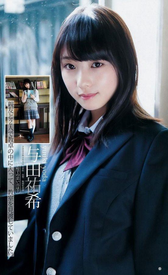 【美少女制服画像】見ているだけで癒やされる美少女アイドルの学校制服姿に萌えた 43
