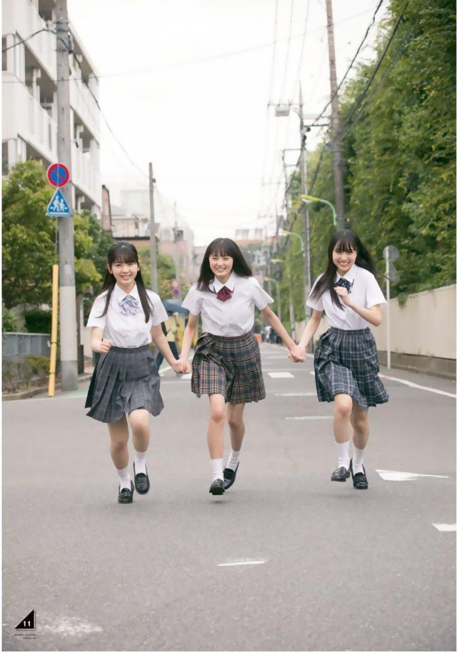 【美少女制服画像】見ているだけで癒やされる美少女アイドルの学校制服姿に萌えた 47