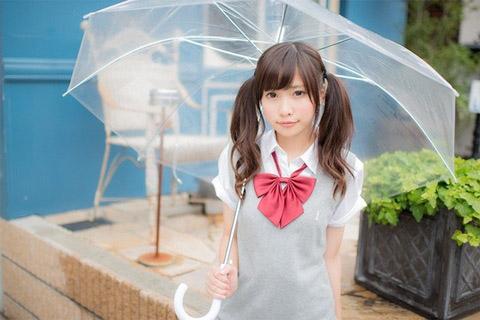 【美少女制服画像】見ているだけで癒やされる美少女アイドルの学校制服姿に萌えた 75
