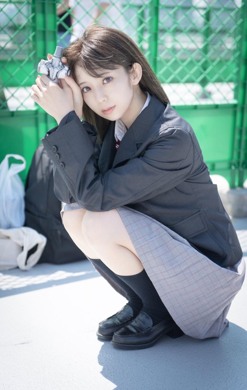 【秋山依里エロ画像】美少女キャラのコスプレで話題になった仮面ライダー女優 75