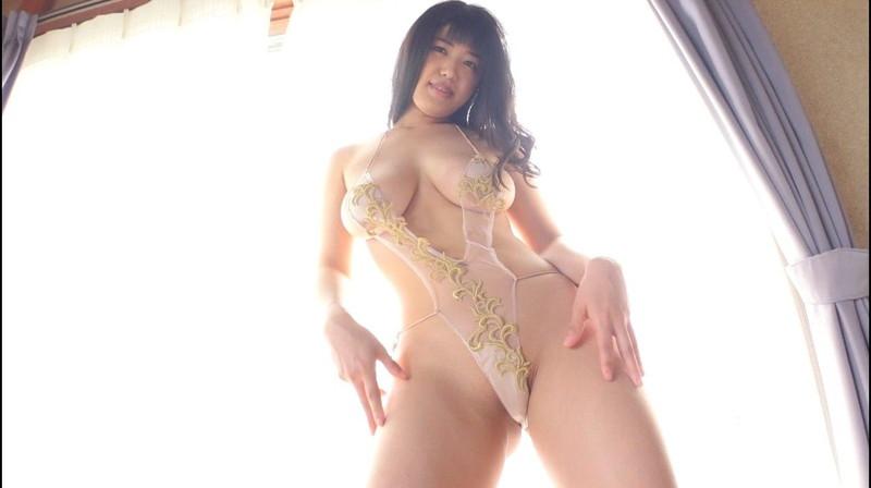 【四葉杏果キャプ画像】まるでセックスしてるみたいなイメージビデオでブッカケまで!? 44