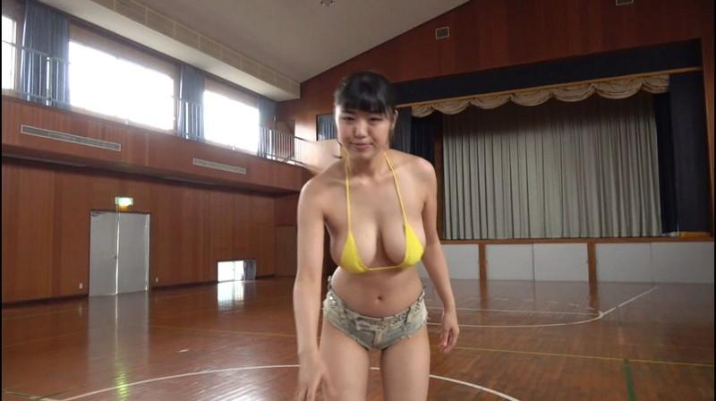 【四葉杏果キャプ画像】まるでセックスしてるみたいなイメージビデオでブッカケまで!? 57
