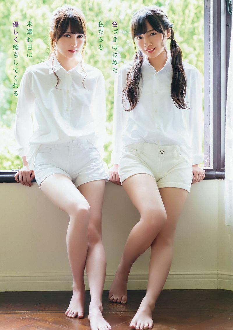 【美少女アイドル画像】美少女勢揃い!坂系アイドルたちのちょっとエッチなグラビア 57