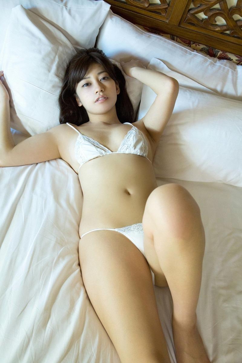 【大澤玲美グラビア画像】Fカップセクシーボディに笑顔がキュートなグラビア美女 07