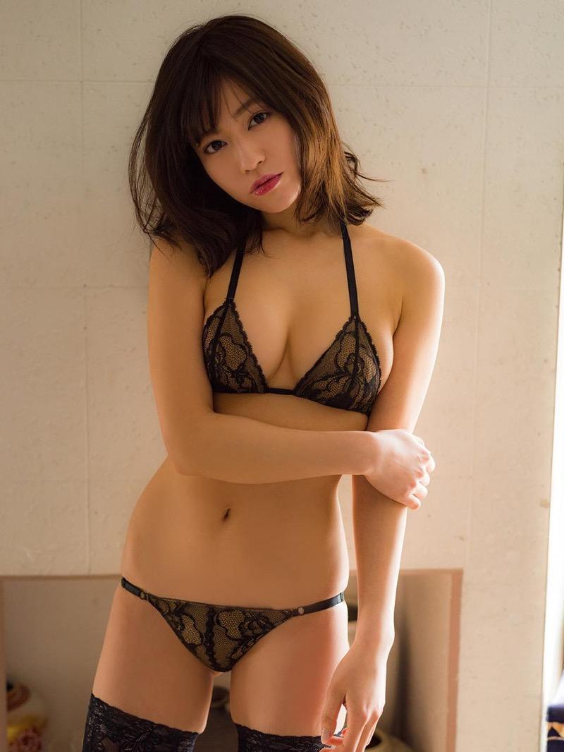 【大澤玲美グラビア画像】Fカップセクシーボディに笑顔がキュートなグラビア美女 15