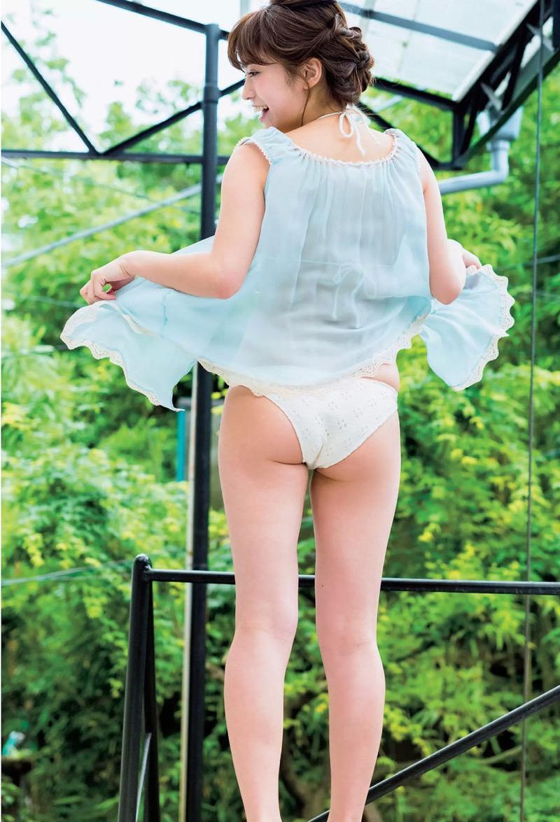 【大澤玲美グラビア画像】Fカップセクシーボディに笑顔がキュートなグラビア美女 21