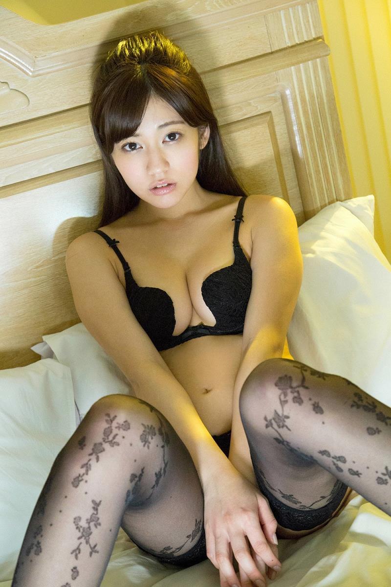 【大澤玲美グラビア画像】Fカップセクシーボディに笑顔がキュートなグラビア美女 56