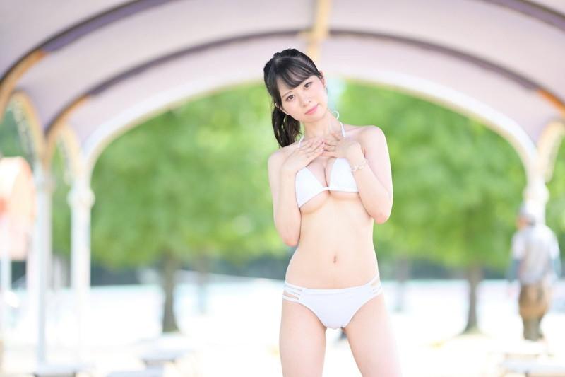 【白谷みこエロ画像】張りのあるGカップ美巨乳で下乳チラリがめちゃシコい! 85