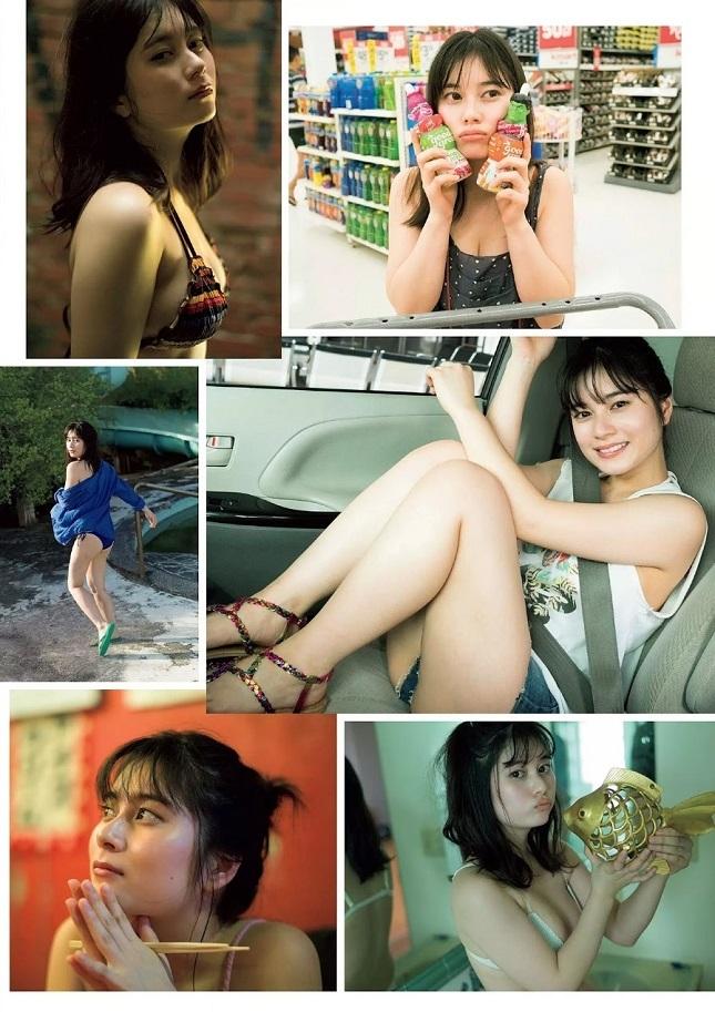 【大久保桜子グラビア画像】美肌美乳で人気上昇中の清楚系美少女が魅せる大胆ビキニ姿 09