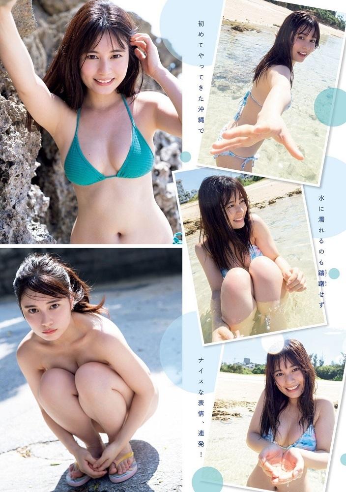 【大久保桜子グラビア画像】美肌美乳で人気上昇中の清楚系美少女が魅せる大胆ビキニ姿 18
