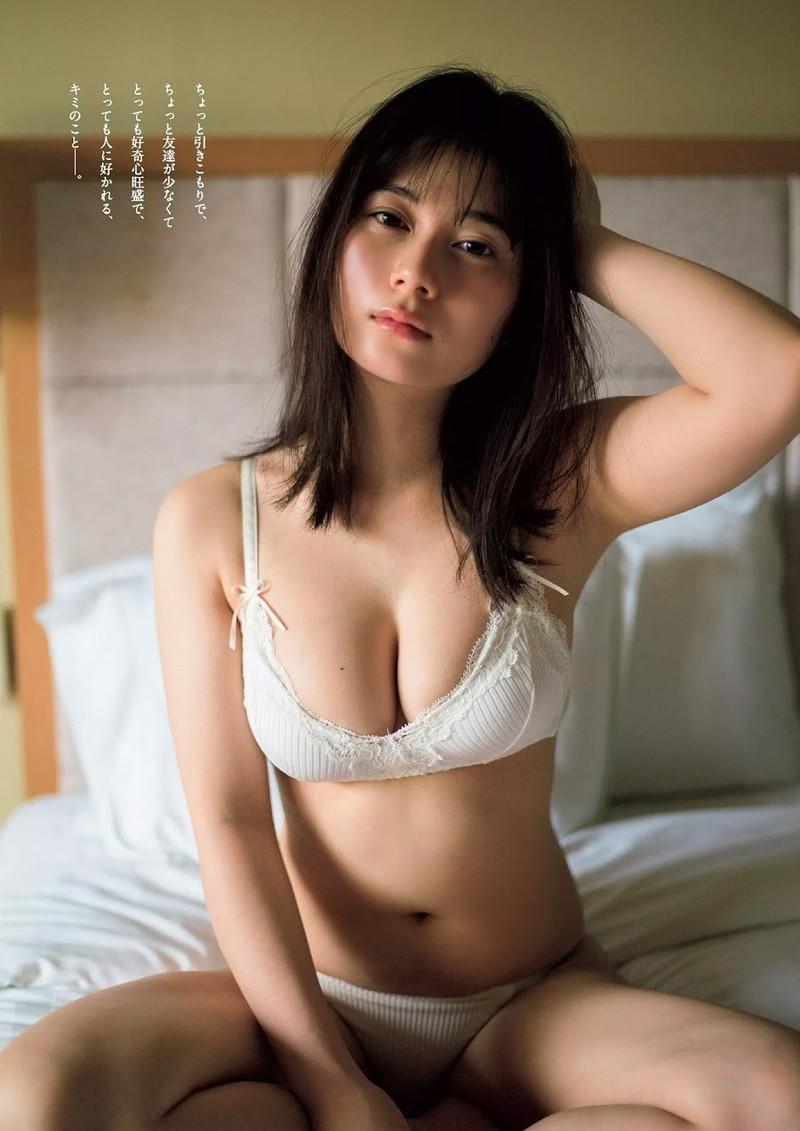 【大久保桜子グラビア画像】美肌美乳で人気上昇中の清楚系美少女が魅せる大胆ビキニ姿 43