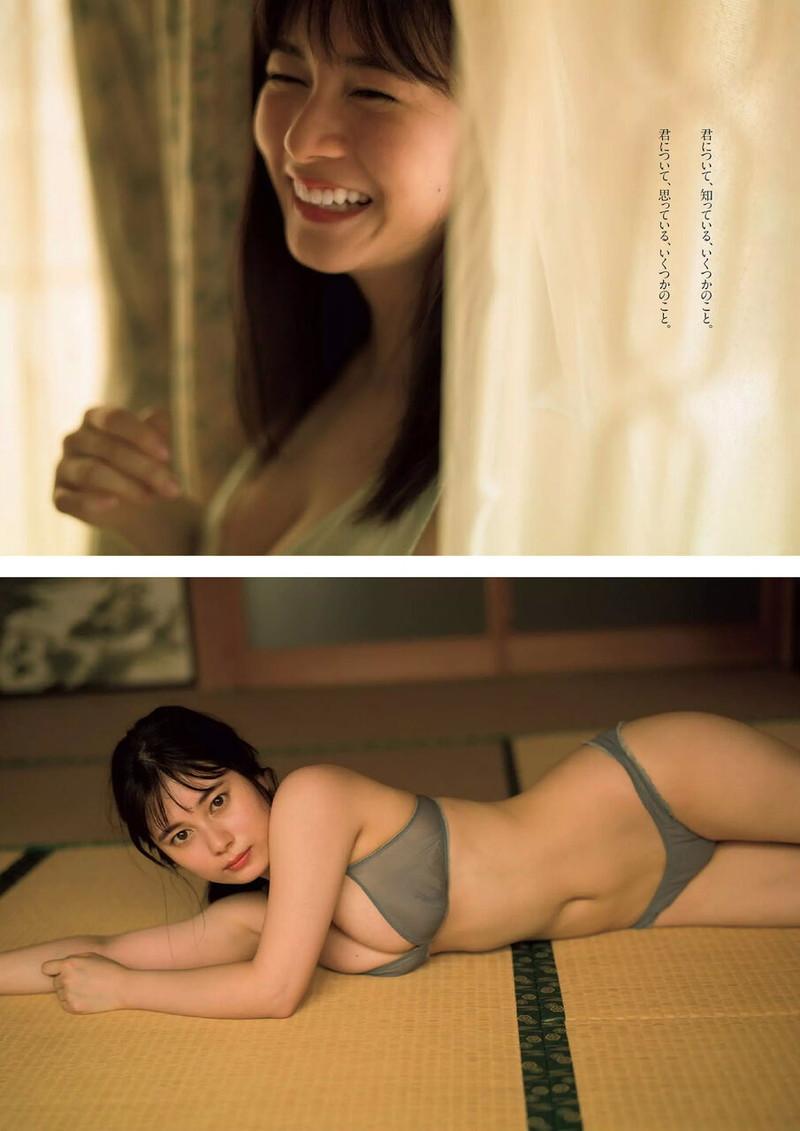 【大久保桜子グラビア画像】美肌美乳で人気上昇中の清楚系美少女が魅せる大胆ビキニ姿 52