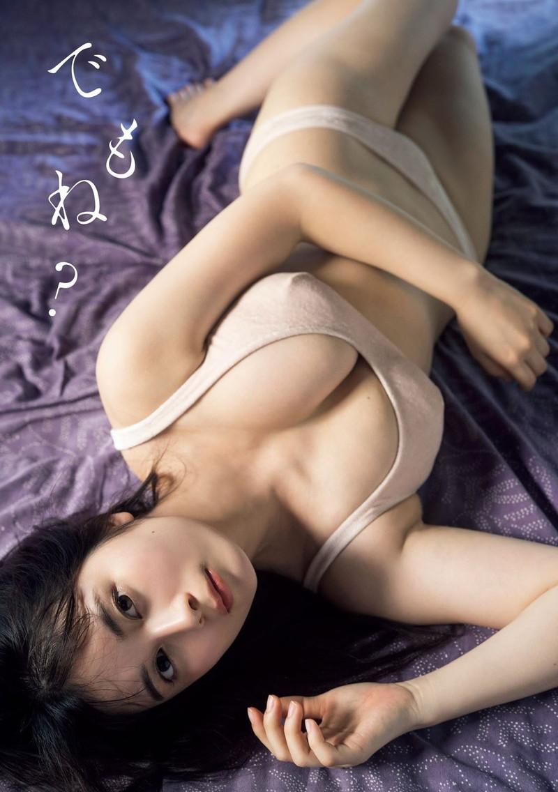 【大久保桜子グラビア画像】美肌美乳で人気上昇中の清楚系美少女が魅せる大胆ビキニ姿 66