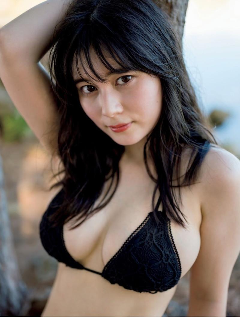 【大久保桜子グラビア画像】美肌美乳で人気上昇中の清楚系美少女が魅せる大胆ビキニ姿 72