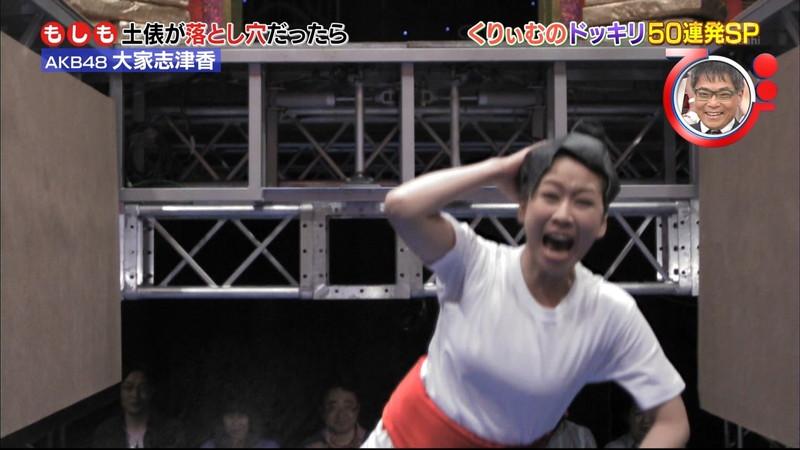 【大家志津香キャプ画像】AKB48のバラエティ担当アイドルが見せた大胆パンチラ!? 10