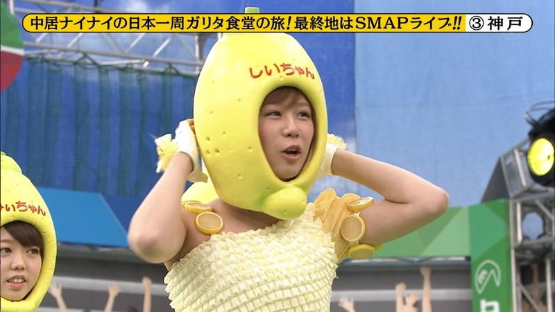 【大家志津香キャプ画像】AKB48のバラエティ担当アイドルが見せた大胆パンチラ!? 14