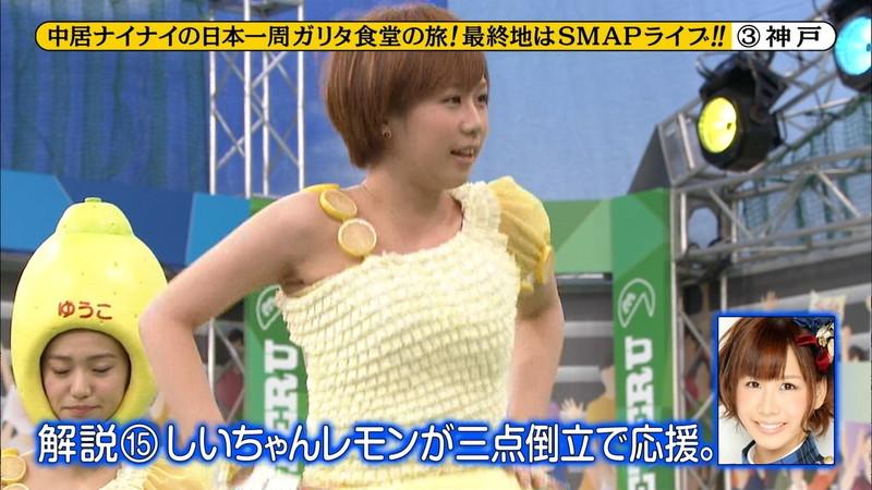 【大家志津香キャプ画像】AKB48のバラエティ担当アイドルが見せた大胆パンチラ!? 15