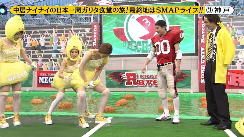 【大家志津香キャプ画像】AKB48のバラエティ担当アイドルが見せた大胆パンチラ!? 32