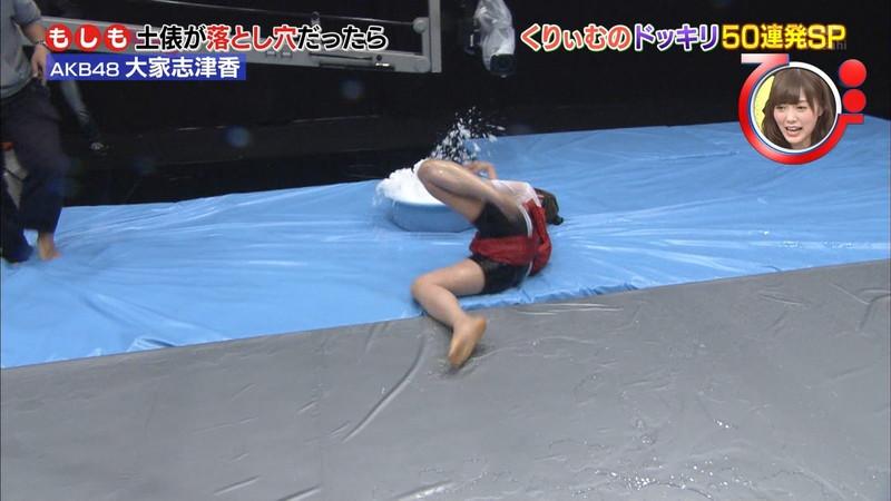 【大家志津香キャプ画像】AKB48のバラエティ担当アイドルが見せた大胆パンチラ!? 45