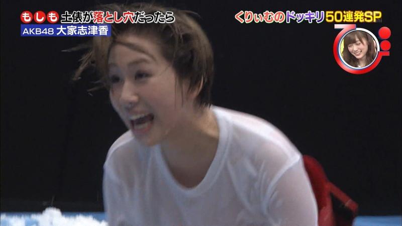 【大家志津香キャプ画像】AKB48のバラエティ担当アイドルが見せた大胆パンチラ!? 48