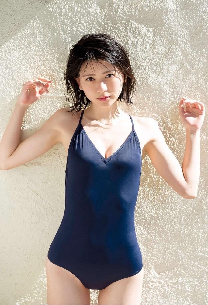 【山田南実グラビア画像】アイドル系美少女がエッチな水着姿を見せるなんて最高過ぎるw 17
