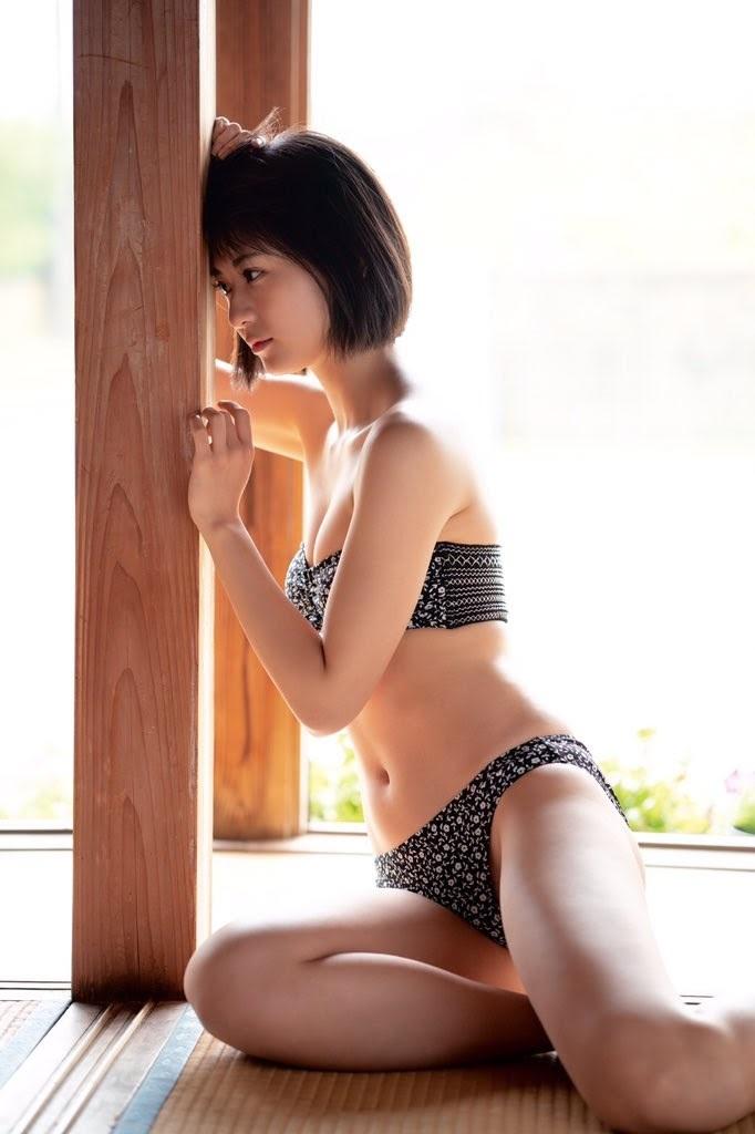 【山田南実グラビア画像】アイドル系美少女がエッチな水着姿を見せるなんて最高過ぎるw 19
