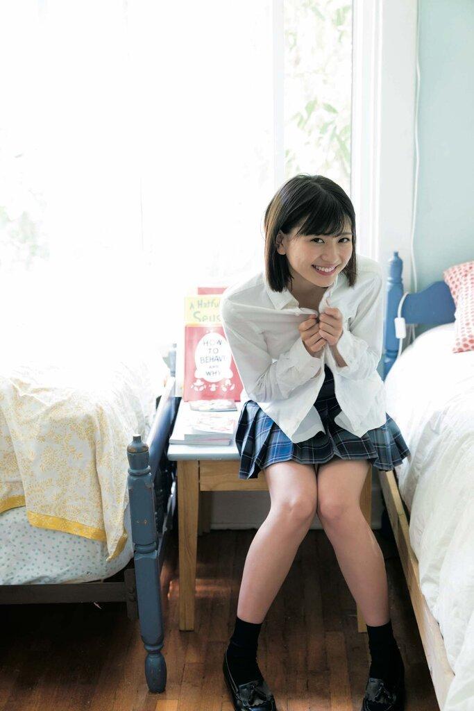 【山田南実グラビア画像】アイドル系美少女がエッチな水着姿を見せるなんて最高過ぎるw 21