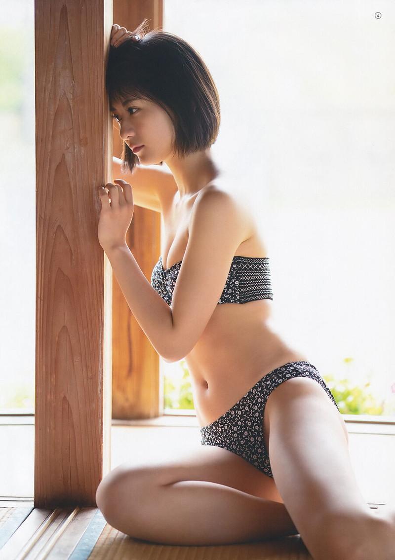 【山田南実グラビア画像】アイドル系美少女がエッチな水着姿を見せるなんて最高過ぎるw 60