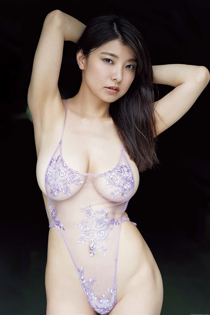 【花井美理グラビア画像】激エロJカップ爆乳をヌードで惜しげもなく晒すグラドル美熟女 48