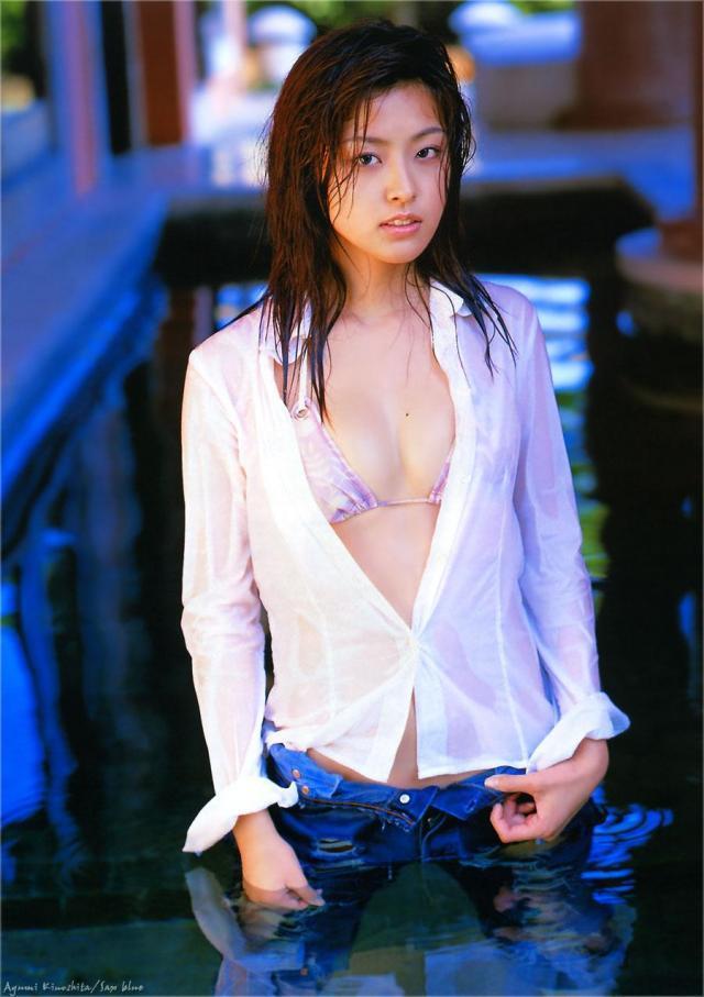 【木下あゆ美グラビア画像】特撮ドラマ出身女優が魅せたビキニ姿のお宝画像! 39