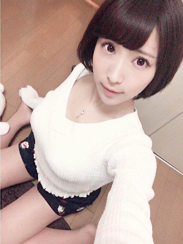【桐生美希エロ画像】Gカップの谷間がエッチなショートヘア美女の着衣おっぱい 35
