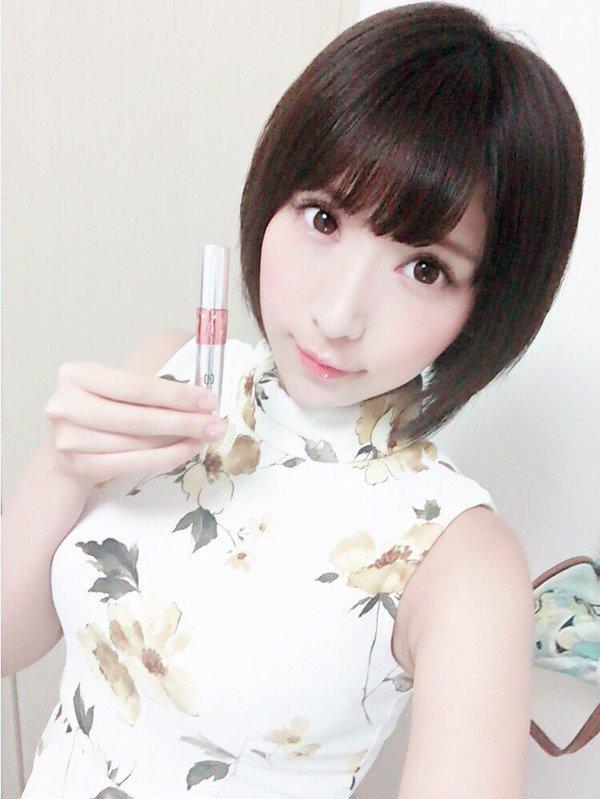 【桐生美希エロ画像】Gカップの谷間がエッチなショートヘア美女の着衣おっぱい 36