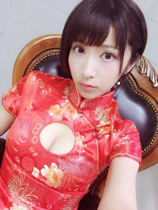 【桐生美希エロ画像】Gカップの谷間がエッチなショートヘア美女の着衣おっぱい 53