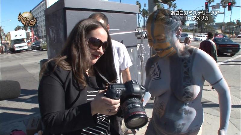 【放送事故画像】女芸人がチラリとかしてるエロシーンを集めたらヤバ過ぎたwwww 74