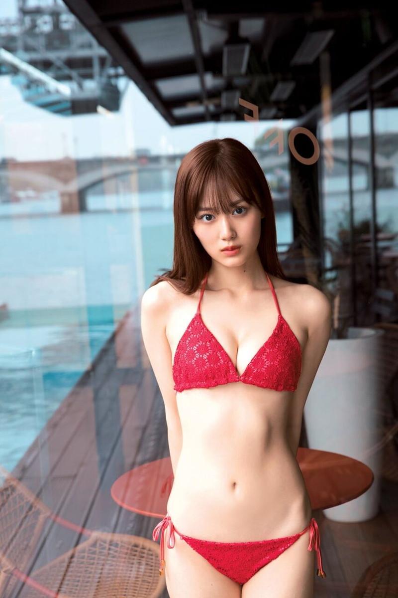 【山下美月グラビア画像】ハタチになっても相変わらず美少女感があって可愛いねぇ! 25