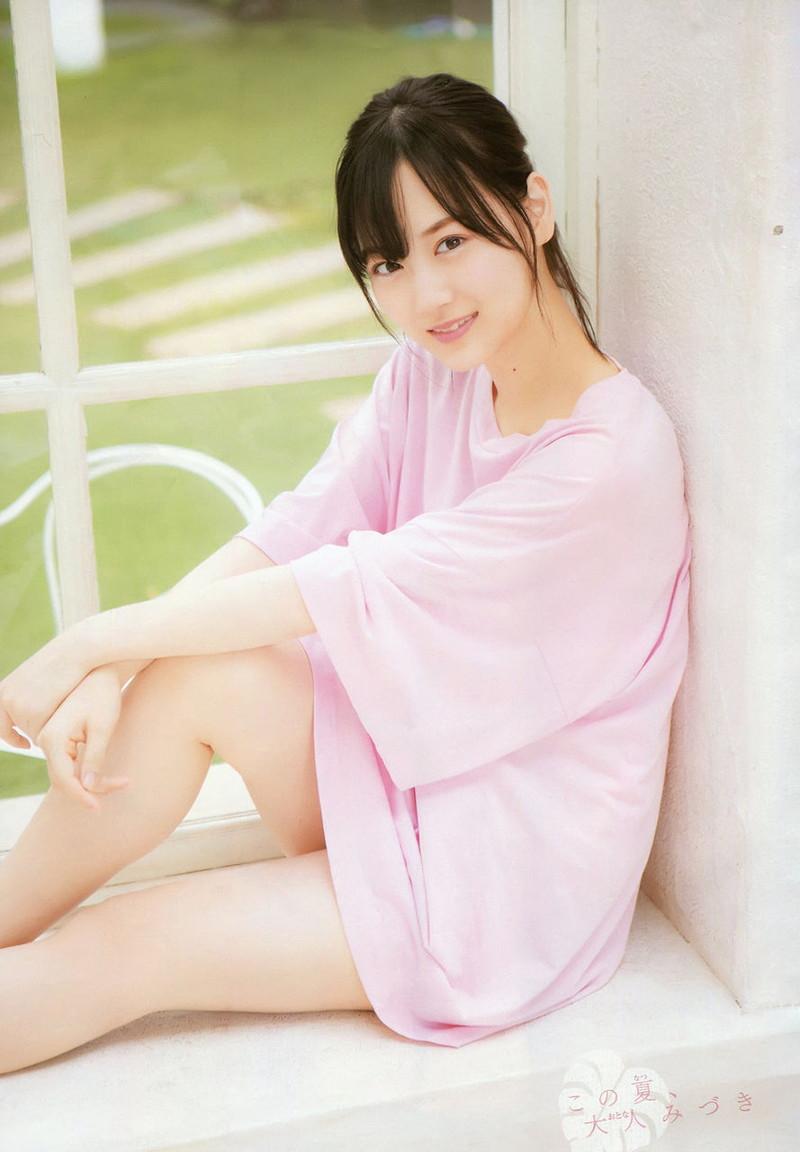 【山下美月グラビア画像】ハタチになっても相変わらず美少女感があって可愛いねぇ! 49